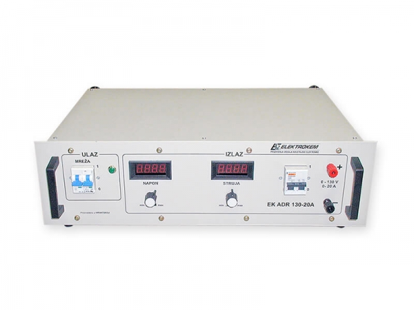 Rectifier - Charger EK ADR 130-20A price, sale, production, Croatia