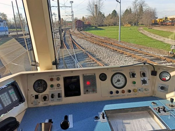 We have installed the EK SPV-1 train monitoring system
